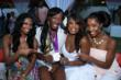 (L-R): Jennifer Williams, Olympic volleyball player Destinee Hooker, Niecy Nash, and Kita Williams (photo credit: Arnold Turner / Reed For Hope Foundation)
